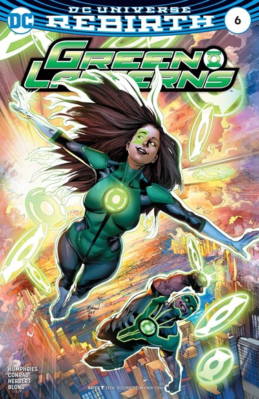 Green Lanterns Cover - 11/1/2016