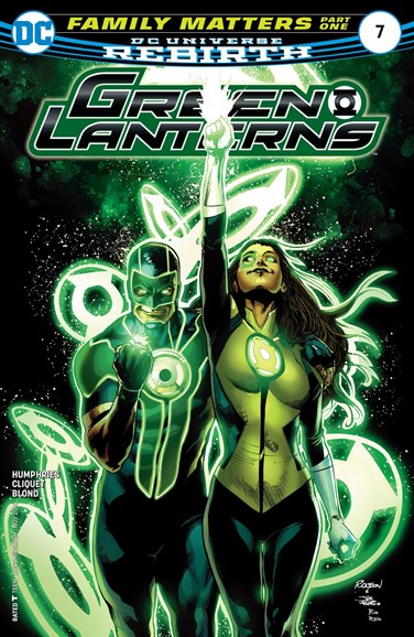 Green Lanterns Cover - 11/15/2016