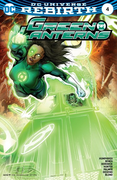 Green Lanterns Cover - 10/1/2016