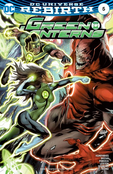 Green Lanterns Cover - 10/15/2016