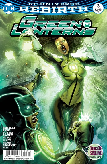 Green Lanterns Cover - 9/15/2016