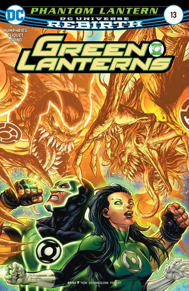 Green Lanterns Cover - 2/15/2017