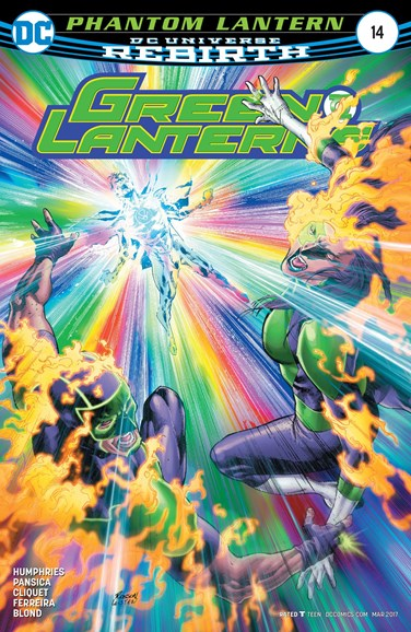 Green Lanterns Cover - 3/1/2017