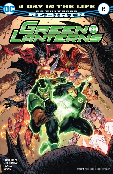 Green Lanterns Cover - 3/15/2017