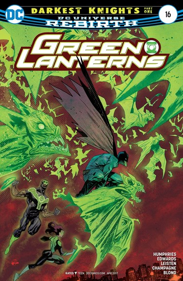 Green Lanterns Cover - 4/1/2017