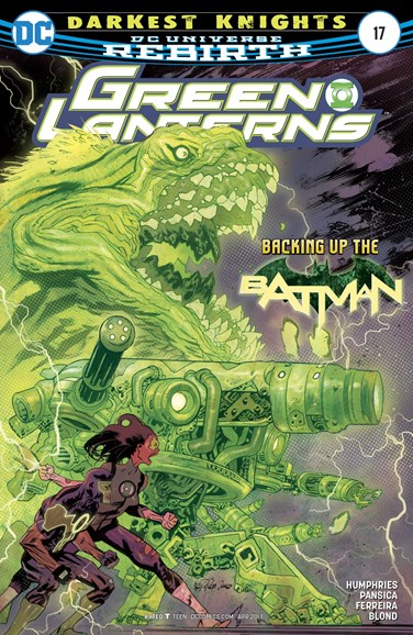 Green Lanterns Cover - 4/15/2017