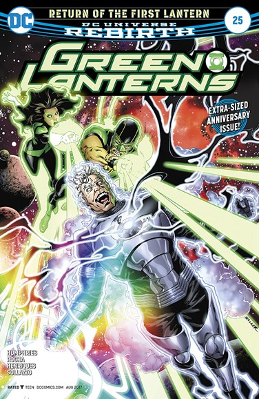 Green Lanterns Cover - 8/15/2017