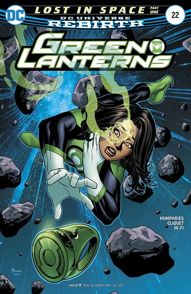 Green Lanterns Cover - 7/1/2017