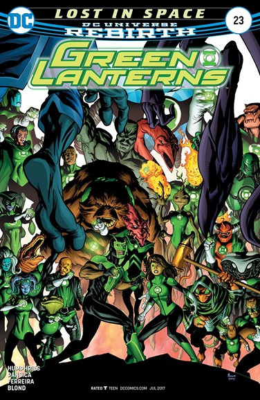 Green Lanterns Cover - 7/15/2017