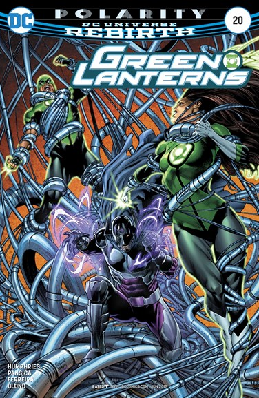 Green Lanterns Cover - 6/1/2017