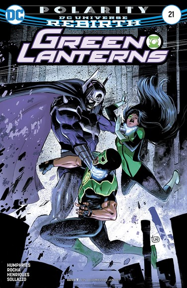 Green Lanterns Cover - 6/15/2017