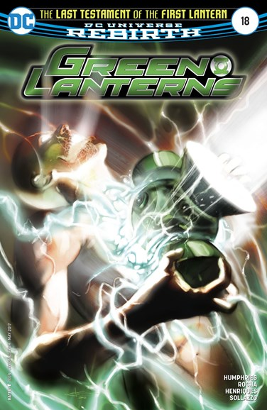 Green Lanterns Cover - 5/1/2017
