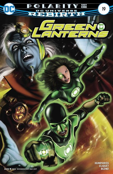Green Lanterns Cover - 5/15/2017
