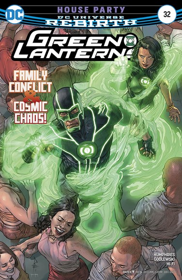 Green Lanterns Cover - 12/1/2017
