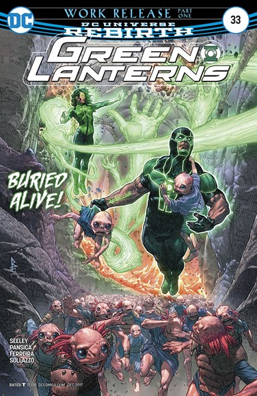 Green Lanterns Cover - 12/15/2017