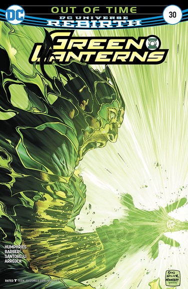 Green Lanterns Cover - 11/1/2017