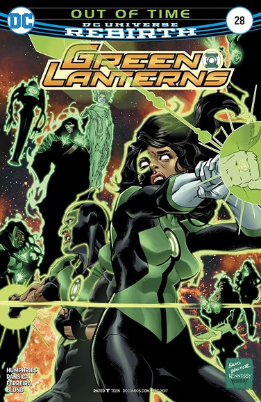 Green Lanterns Cover - 10/1/2017