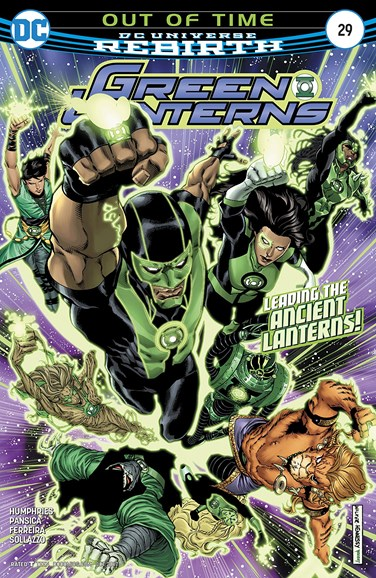 Green Lanterns Cover - 10/15/2017