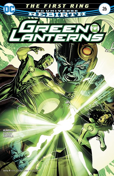 Green Lanterns Cover - 9/1/2017