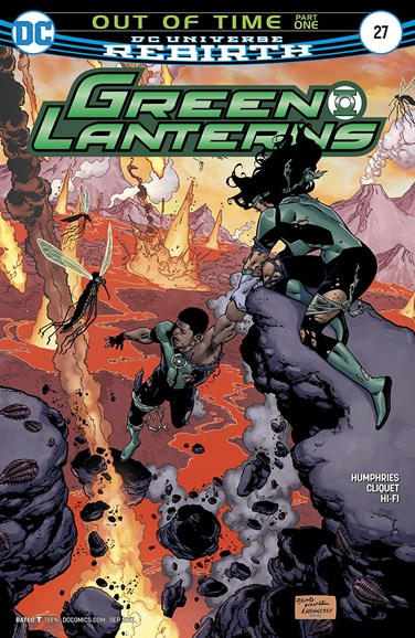 Green Lanterns Cover - 9/15/2017
