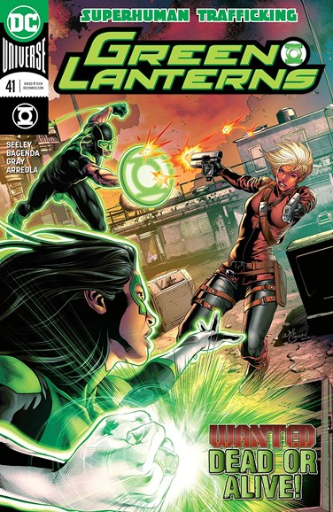 Green Lanterns Cover - 4/15/2018