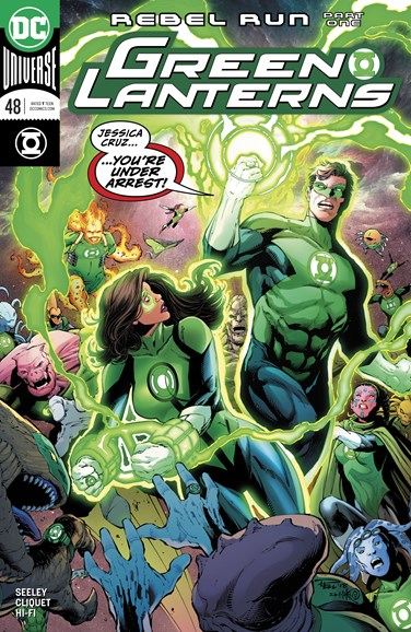 Green Lanterns Cover - 8/1/2018