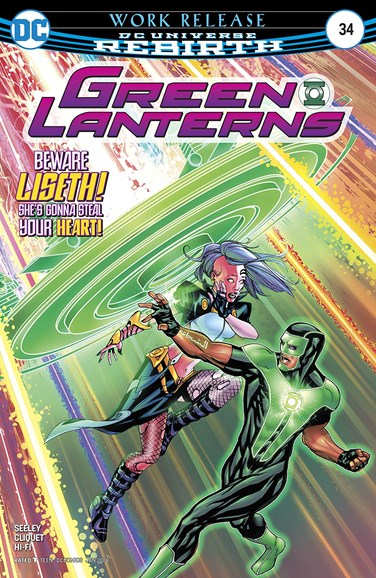 Green Lanterns Cover - 1/1/2018