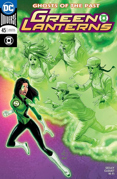Green Lanterns Cover - 6/15/2018
