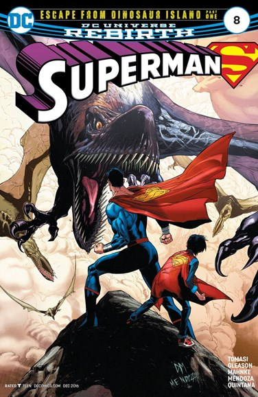 Superman Cover - 12/1/2016