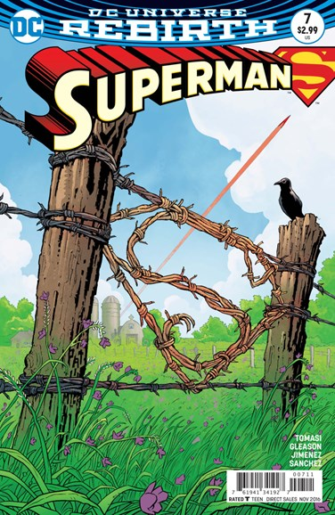 Superman Cover - 11/15/2016