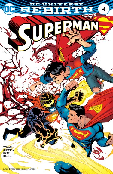 Superman Cover - 10/1/2016