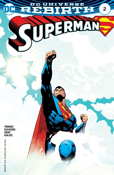 Superman Cover - 9/1/2016