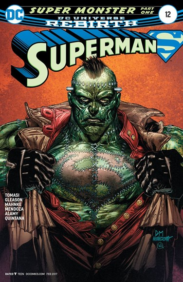 Superman Cover - 2/1/2017