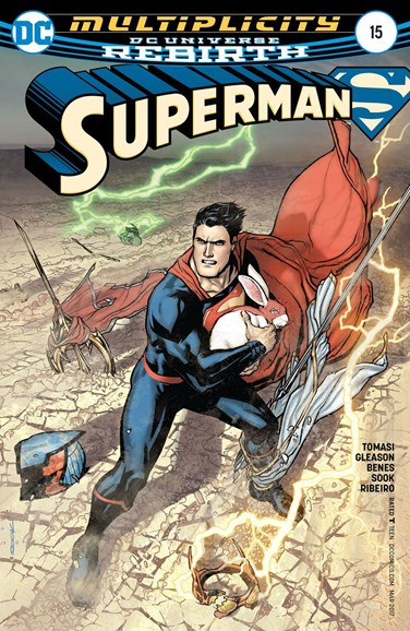 Superman Cover - 3/15/2017