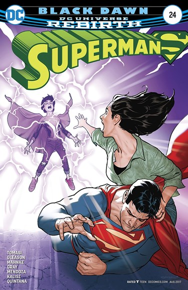 Superman Cover - 8/1/2017