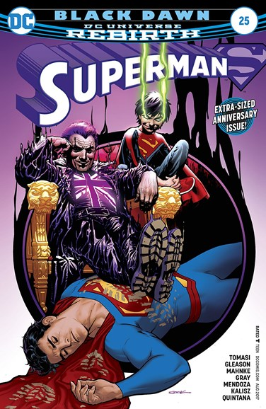 Superman Cover - 8/15/2017