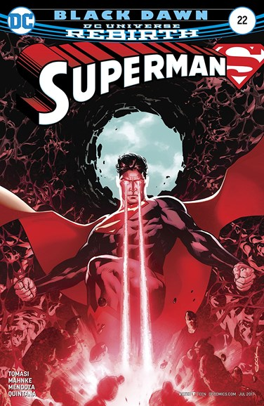 Superman Cover - 7/1/2017