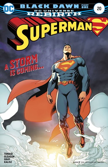 Superman Cover - 6/1/2017