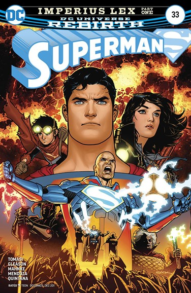 Superman Cover - 12/15/2017