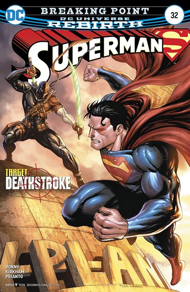 Superman Cover - 12/1/2017