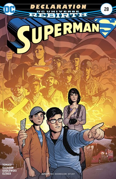 Superman Cover - 10/1/2017