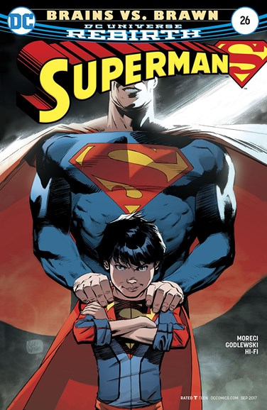 Superman Cover - 9/1/2017
