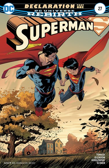 Superman Cover - 9/15/2017