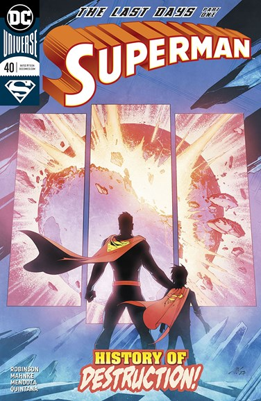 Superman Cover - 4/1/2018
