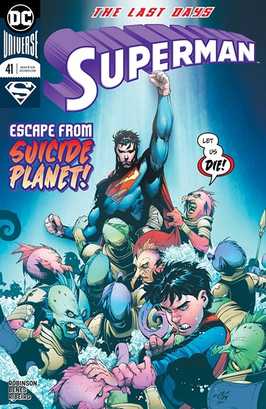 Superman Cover - 4/15/2018