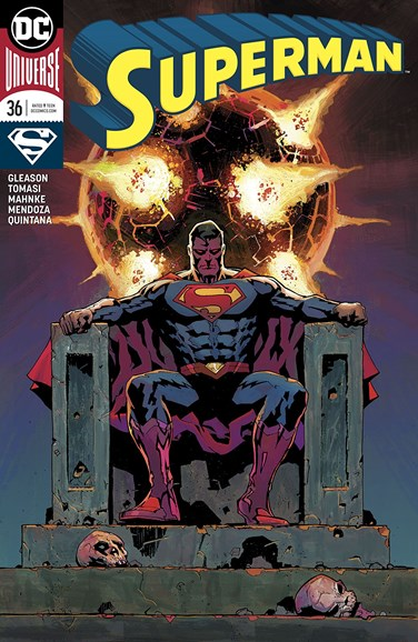 Superman Cover - 2/1/2018