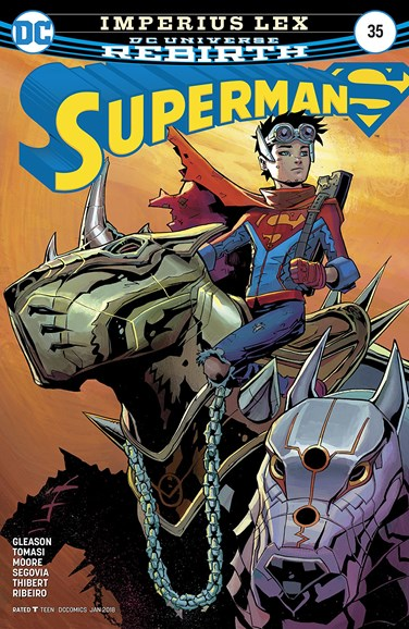 Superman Cover - 1/15/2018