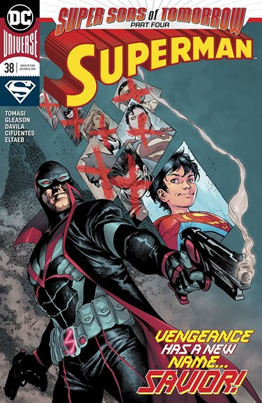 Superman Cover - 3/1/2018