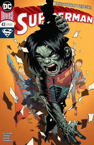 Superman Cover - 5/15/2018