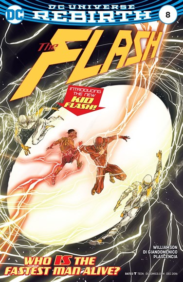 The Flash Cover - 12/1/2016